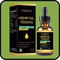 Organic Hemp Oil.